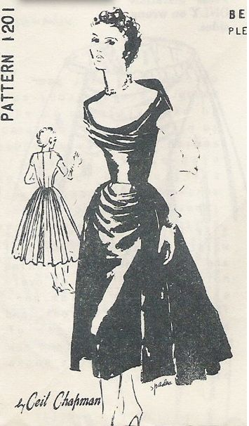 221 Best 1950s Vintage Retro Dress Sewing Patterns Images