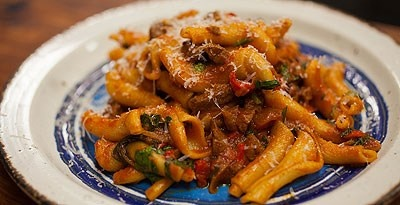 Sicilian Chilli Beef Ragout with Pasta