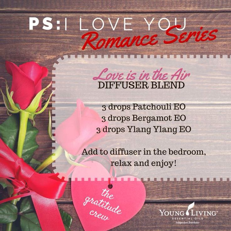 Delightful essential oil diffuser blend with Young Living essential oils.
