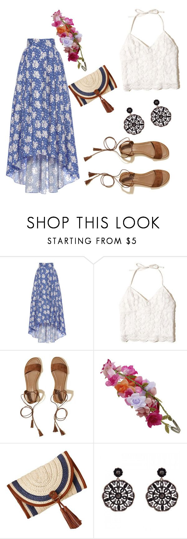 """""""Barcelona"""" by nikkey23 ❤ liked on Polyvore featuring LUISA BECCARIA, Hollister Co. and Accessorize"""