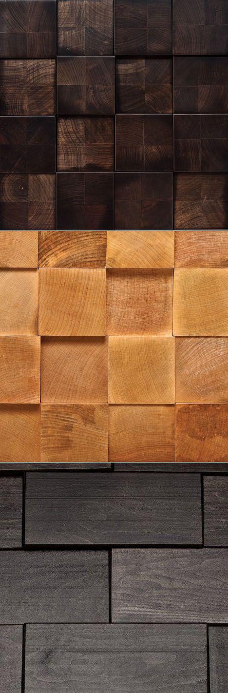Wooden Wall (& Flooring) Tiles