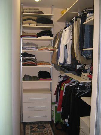 Best 25+ Small closet design ideas on Pinterest | Organizing small ...