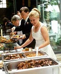 Wedding Food Ideas on a Budget! This is great! It is actually cheaper than pizza. lol