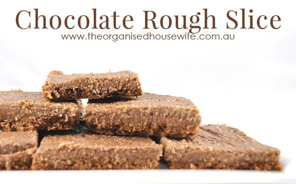 Chocolate Rough Slice - The Organised Housewife