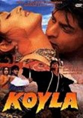 Koyla- Dir.Rakesh Roshan ; Shahrukh Khan, Madhuri Dixit, Amrish Puri - part Hindi revenge saga and part love story, young Shankar, who works for coal- mine boss Raja and his scheming brother Brijwa. Brijwa plots to con local beauty Gauri (Madhuri Dixit) into marriage by pretending to be Shankar. When Gauri and Shankar uncover the ruse, they escape together, with Brijwa and his henchmen in pursuit.
