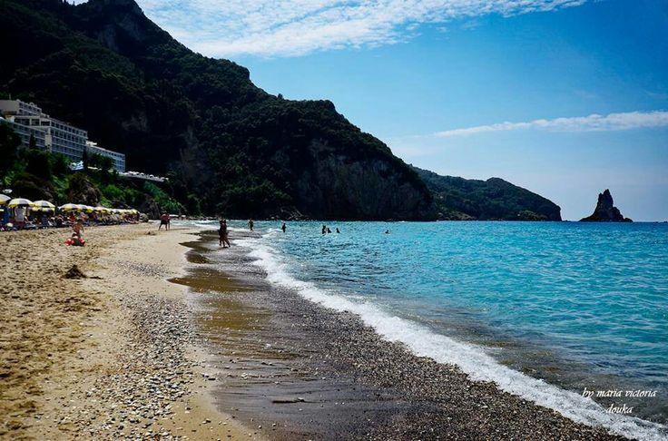 Agios Gordios - Corfu, Greece