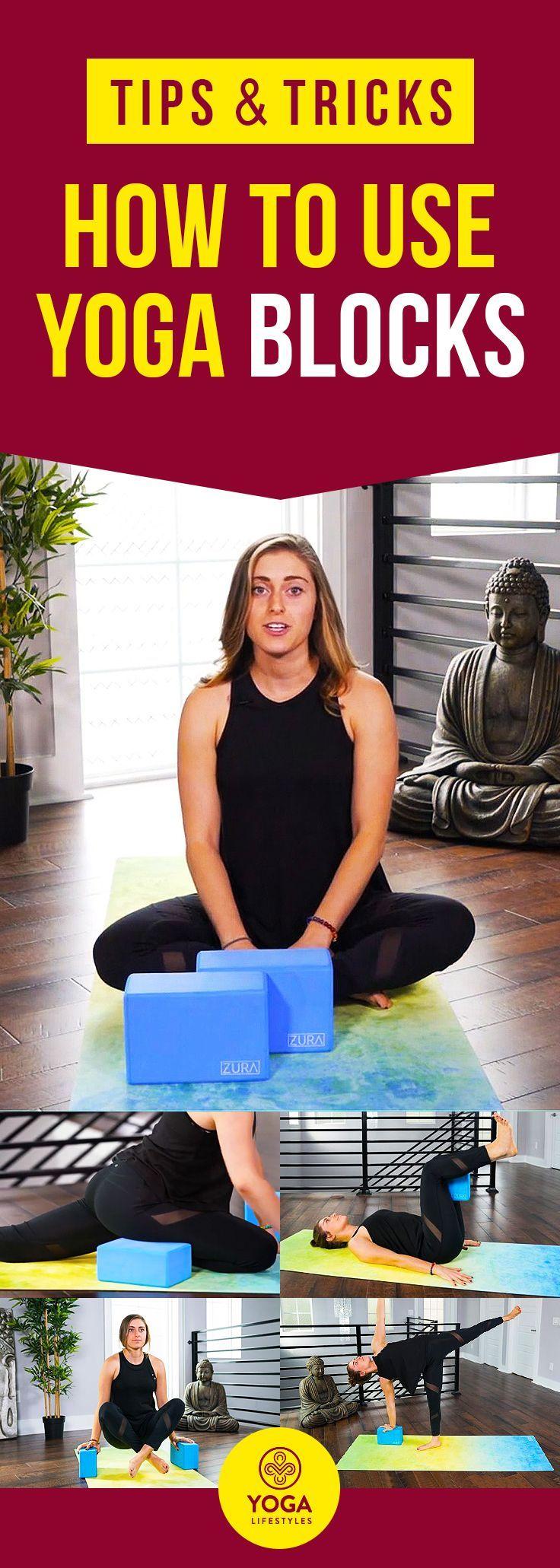 Tips & Ticks: How to use yoga blocks