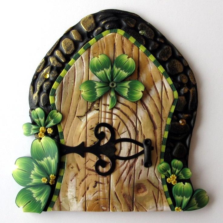 336 best fairy doors images on pinterest fairy doors for Fairy door wall art