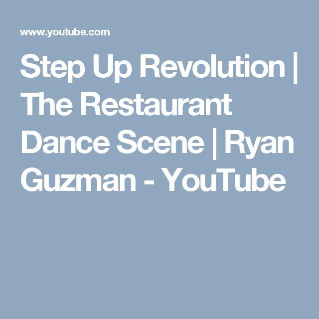Step Up Revolution | The Restaurant Dance Scene | Ryan Guzman - YouTube