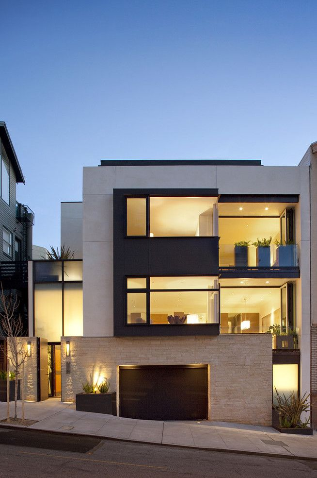 "modern ""square"" home"