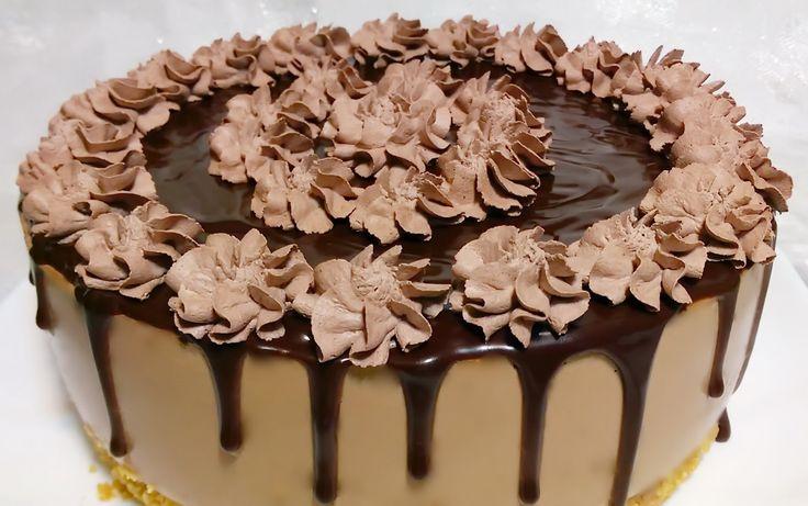 Reteta Cheesecake cu ciocolata fara coacere - تشيزكيك بالشوكولاطة بدون فرن - YouTube