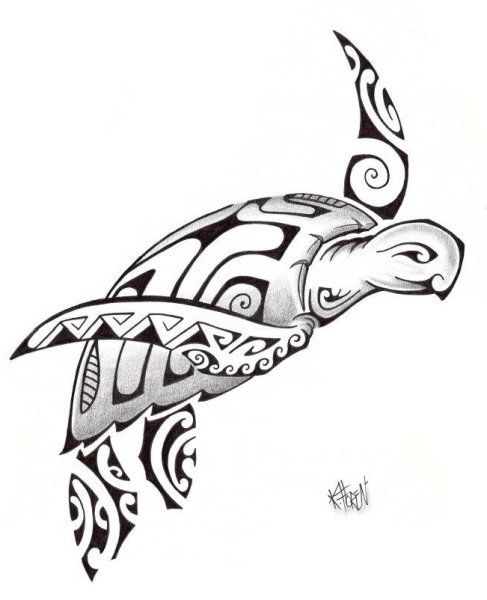 Diseño Tatuaje Tortuga 2012