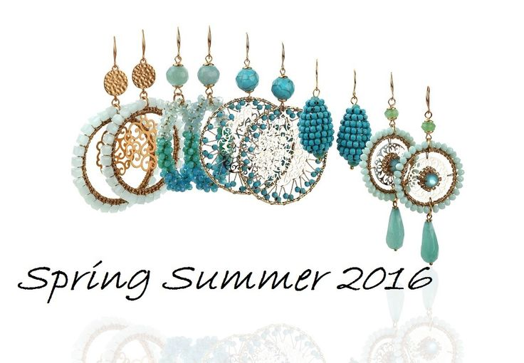 Earrings Blue1