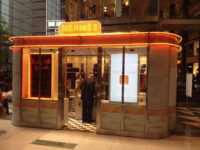"Un ""dinners"" de luxe signé #Hermés à #NewYorkCity !"