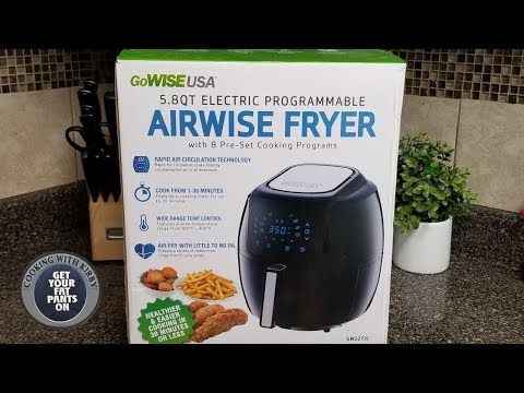 Airwise Fryer from Gowise USA - Review and How to use it