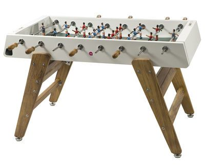 RS#3 Wood Table football - L 151 cm White / Wood by RS BARCELONA - Design furniture and decoration with Made in Design
