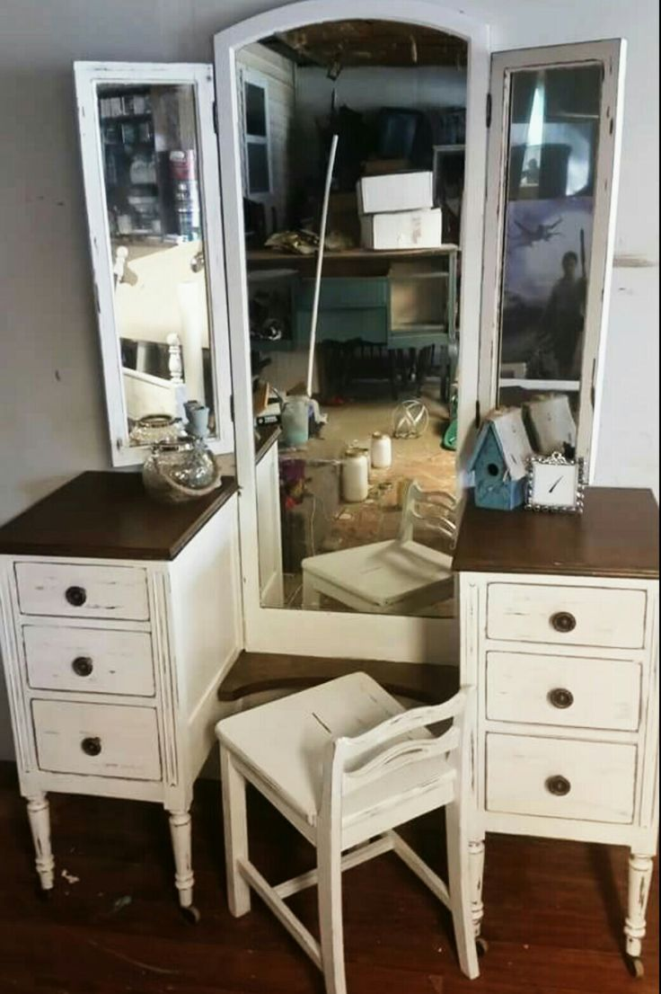 Best 25 Refinished Vanity Ideas On Pinterest Vintage