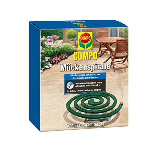 Lot de 10 Spirales Anti-Moustiques + support – insecticide – protection contre les moustiques: COMPO Lot de 10 Spirales Anti-Moustiques +…