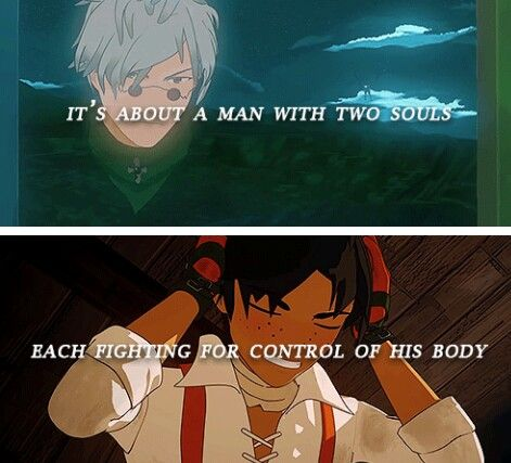 Ozpin and Oscar were foreshadowed back in RWBY volume 1 ep 3