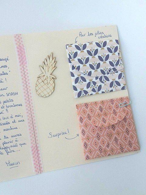 """Un Happy mail est """"un échange de cartes, de créativité, de mots, d'illustrations et/ou de goodies, accompagnés d'une lettre manuscrite."""""""