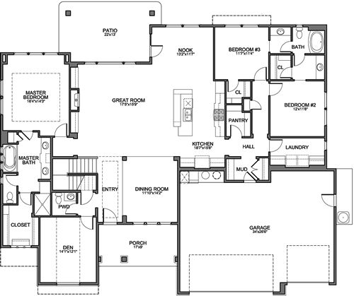 Brighton homes house plans home design and style for Brighton floor plans