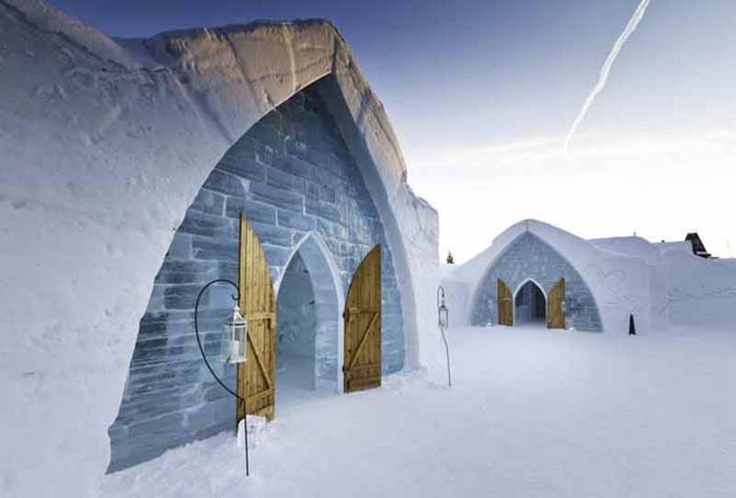 Unique hotel design h tel de glace quebec ca a place for Design hotel quebec city