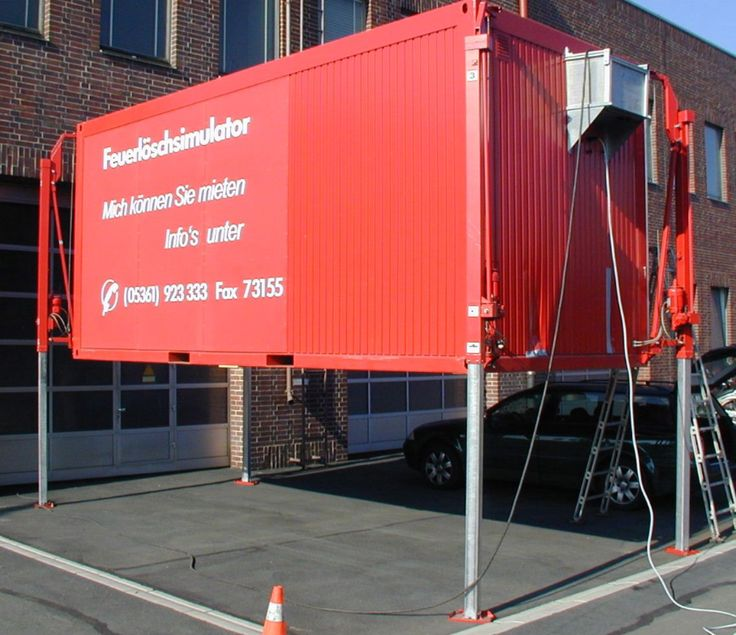 Image result for self leveling shipping container
