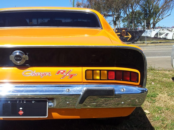 Valiant Charger, NSW, Australia, minutes before plowing into the last of an endangered species.