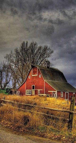 Love red barns