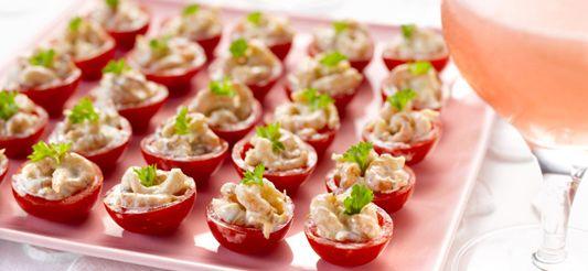 Delhaize - Mini tomaat garnaal