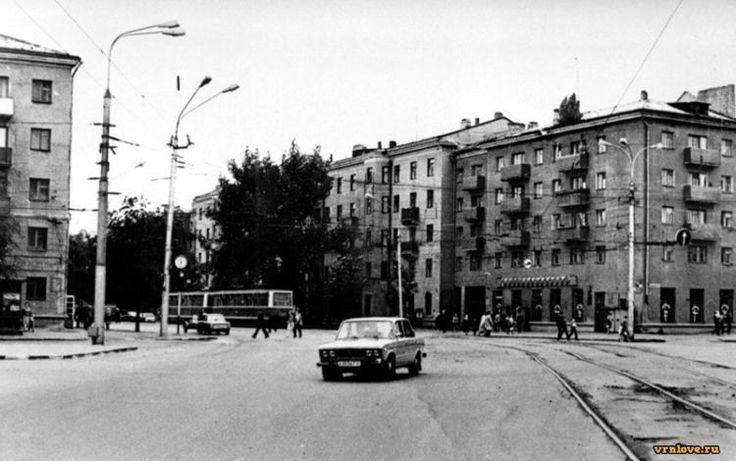Площадь Заставы в Воронеже, 1985 год