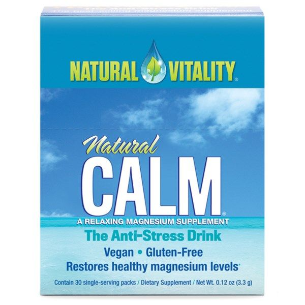 Natural Vitality, Natural Calm, The Anti-Stress Drink, 30 Single-Serving Packs, 0.12 oz (3.3 g) Each  #stress #formula #support #balance #management #iherb #thingstobuy #shopping #relief