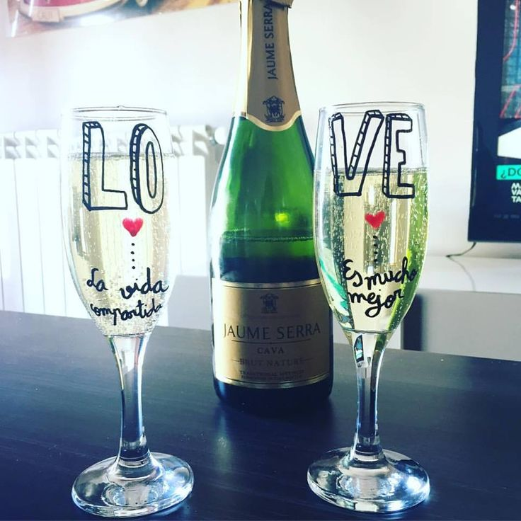 17 best regalos aniversario images on pinterest romantic for Copas de champagne