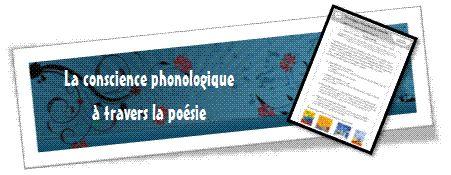 Rallye-liens: la conscience phonologique à travers la poésie