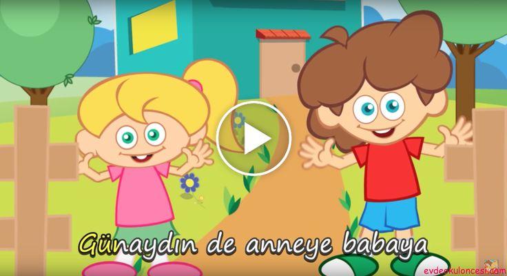 """Okul öncesi çocuklar için eğitici çocuk şarkıları """"GÜNAYDIN DE"""" ile devam ediyor."""