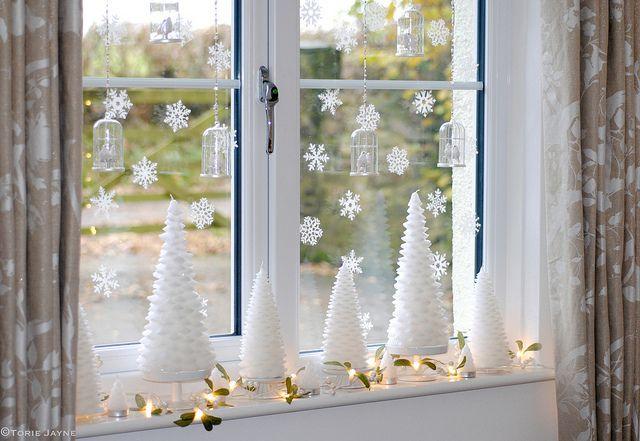 Můj Laura Ashley Vánoční okno