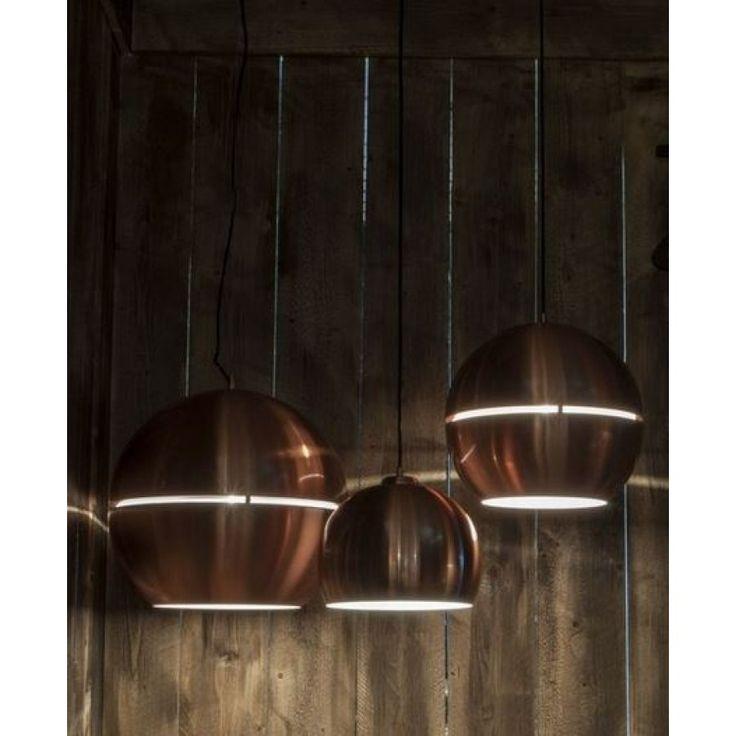 Retro Hanglamp Koper �40cm