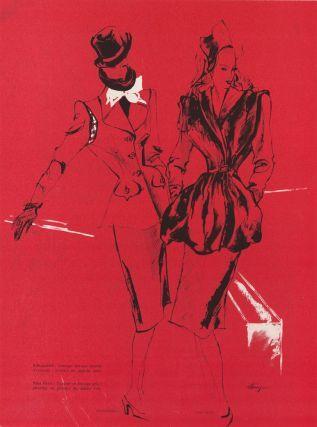 1945 Schiaparelli, Nina Ricci. Leon Benigni.
