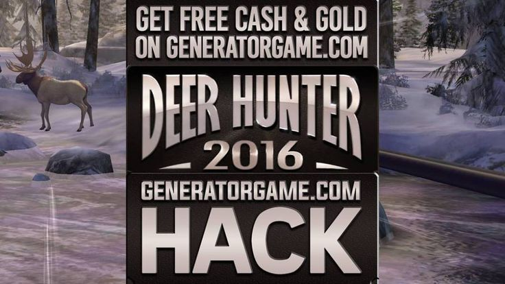 LETS GO TO DEER HUNTER 2016 GENERATOR SITE!  [NEW] DEER HUNTER 2016 HACK ONLINE REAL WORKS: www.online.generatorgame.com Add up to 999999 Cash and Gold each day for Free: www.online.generatorgame.com Real Working Hack Method 100% Guaranteed: www.online.generatorgame.com Safe and Secure guys! Please SHARE this: www.online.generatorgame.com  HOW TO USE: 1. Go to >>> www.online.generatorgame.com and choose Deer Hunter 2016 image (you will be redirect to Deer Hunter 2016 Generator site) 2. Enter…