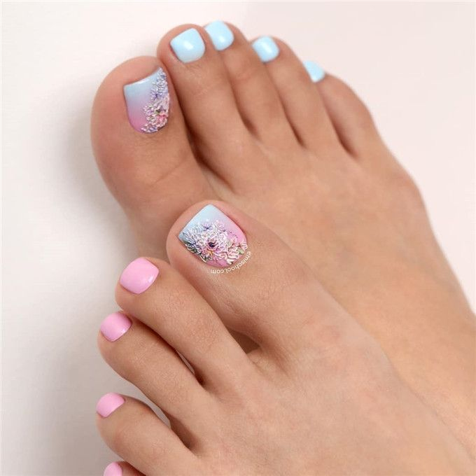 Pretty Toe Nail Designs You Should Try In This Summer
