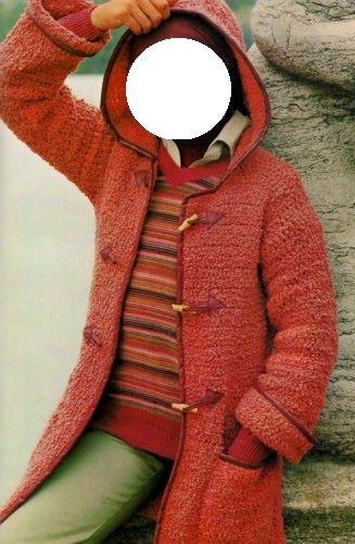 Professione Donna: Lavori con l'uncinetto: Montgomery di lana realizzato con l'uncinetto