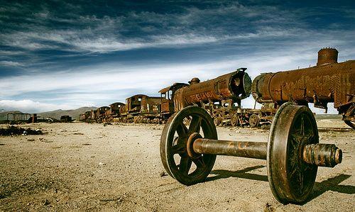 Cementerio de trenes - Uyuni - Bolivia