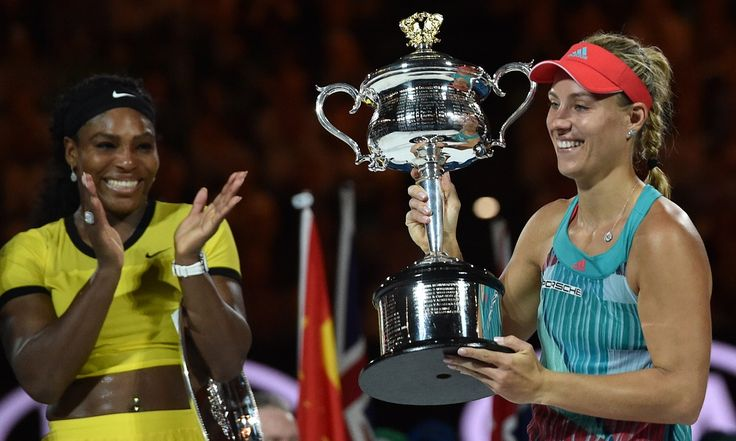 Angelique Kerber stuns Serena Williams to claim Australian Open title – as it happened | Sport | The Guardian