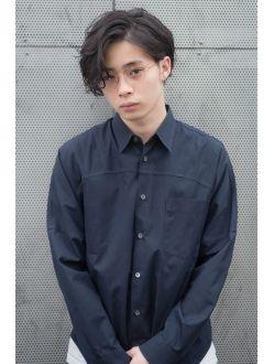 【chou chou】菅田将暉さん風耳かけウェーブミディ(淀川純)