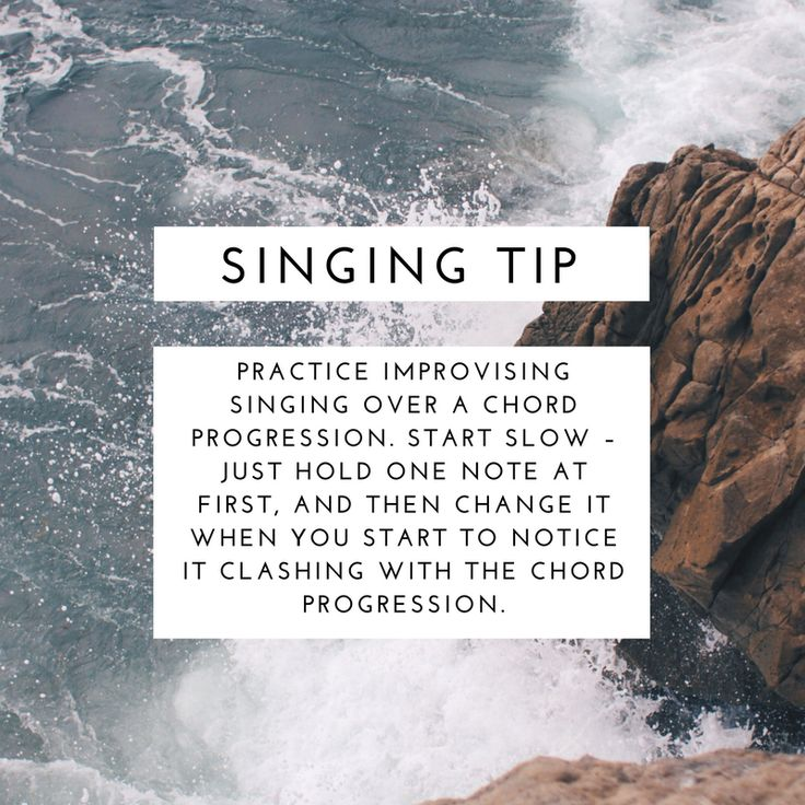 Singing Tip | Modern Songstress Blog