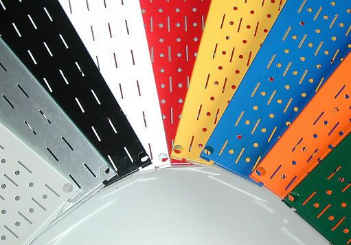 Steel Pegboard - Colored Metal Pegboard and Magnetic Tool Board by Wall Control
