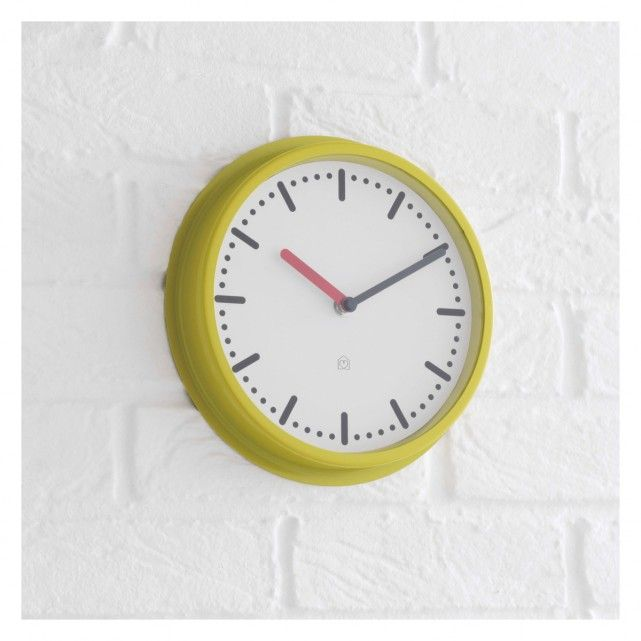 17 best ideas about yellow wall clocks on pinterest