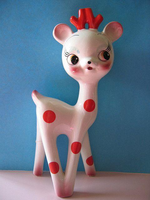 Vintage Deer by truz.truz, via Flickr