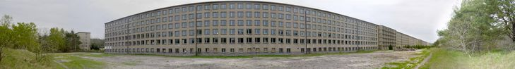 File:Panorama KDF-Block.jpg  Prora.