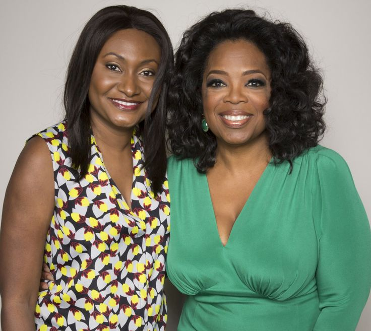 Meeting Oprah Winfrey - a role model for so many people - was one of the greatest experiences in my life.